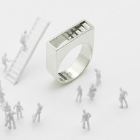 Stair Ring (Silver)