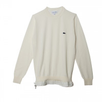Long Sleeved pullover ホワイト(3万8,000円)