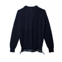Long Sleeved pullover ネイビー(3万8,000円)