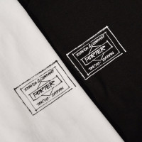 """James Jarvis × PORTER""「ORIGINAL T-SHIRT」BLACK/WHITE、サイズ S/M/L/XL(各6,000円)"