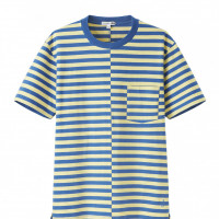 「UNIQLO and JW ANDERSON ボーダーT(半袖)」1,500円