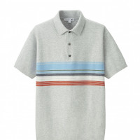 「UNIQLO and JW ANDERSON ニットポロシャツ(半袖)+E」2,990円