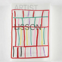 『ARTIST | WORK | LISSON』(HANDMADE EDITION by STANLEY WHITNEY)