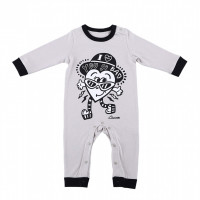 Chocomoo「COTTON ROMPERS by Chocomoo kidz」(税込5,940円)※綿100%/80㎝のみ