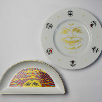 The Sun(半月プレート)、New Year Plate 2019 各1万円