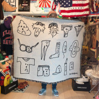 Ken Kagami × VOILLD「SEXY DRAWINGS BIG BLANKET」