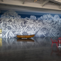 Installation view of Encounter of Waters