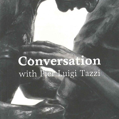 Front page of 'Adel Abdessemed Conversation with Pier Luigi Tazzi' 2012 Actes Sud.