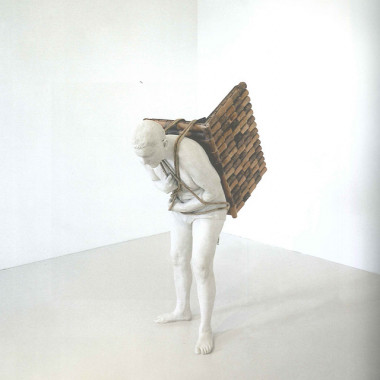 Home to Go, 2001Sculpture, 165x120cmAdrian Paci