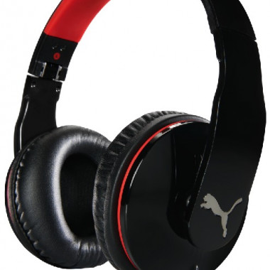 PUMA VORTICE OVER EAR+ MIC BLK