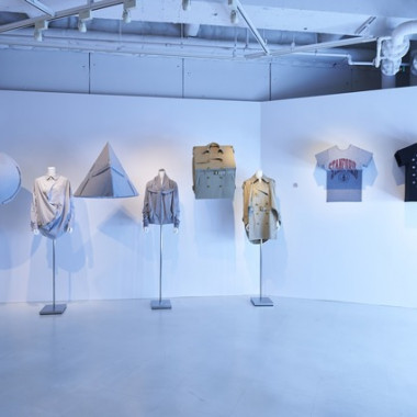 "ANREALAGE EXHIBITION ""A REAL UN REAL AGE""(渋谷パルコの展示の様子)"