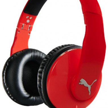 PUMA VORTICE OVER EAR+ MIC RED
