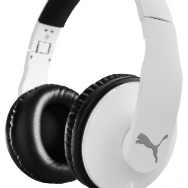 PUMA VORTICE OVER EAR+ MIC WHT