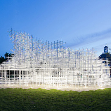 Serpentine Gallery Pavilion 2013 Designed by Sou Fujimoto