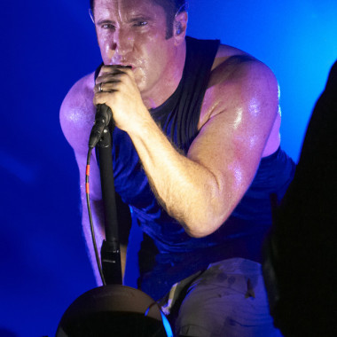 NINE INCH NAILS(7/26、GREEN STAGE)