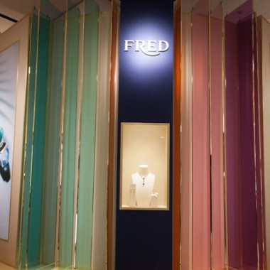 「FRED, Lights and Colors of the French Riviera」(伊勢丹新宿店本館1階ザ・ステージ)