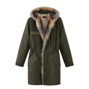 Parka with fur(37万円)