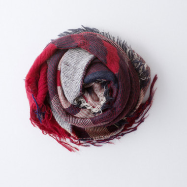 LIBRARYの「roots shawl wool middle」