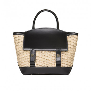 SMALL TOTE  / Woven and Black(13万8,000円)