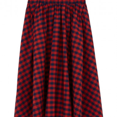 WOMENS CHECK ESTELLE SKIRT(3万4,000円)