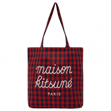 CHECK TOTE BAG(6,500円)