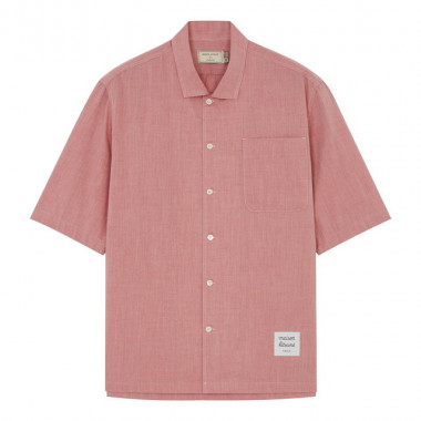 MENS PLAIN SHORT SLEEVES SHIRT(2万2,000円)