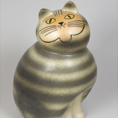 Mia Cat from the Big Zoo series(Manufactured from 1966, this copy made at Keramikstudion 1990.) 個人蔵、スウェーデン