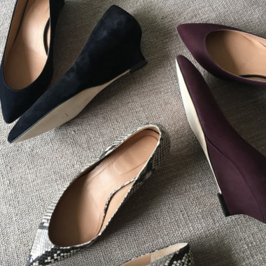 THE POINTED WEDGE(3色/各4万2,000円)