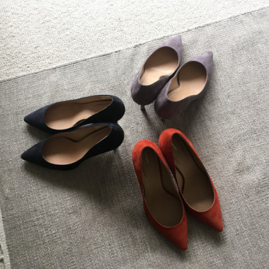 THE POINTED PUMPS(3色/各3万9,000円)
