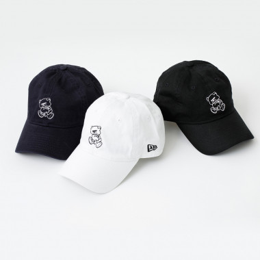 UNDERCOVER x NEW ERA®「9TWENTY™/White,Navy,Black」(8,000円)