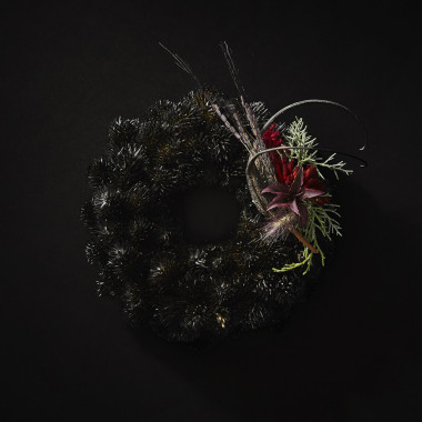 BLACK WREATH / NATIVE FLOWER(6,000円※参考価格)