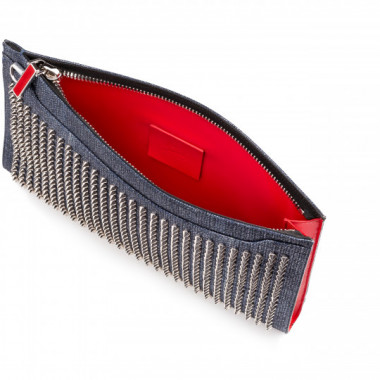 「SKY POUCH LAME LUX SPIKES」(11万5,000円)
