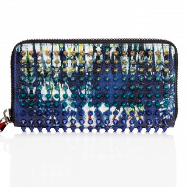 「M PANETTONE WALLET CALF EMPIRE BAZIN SPIKES」(9万4,000円)