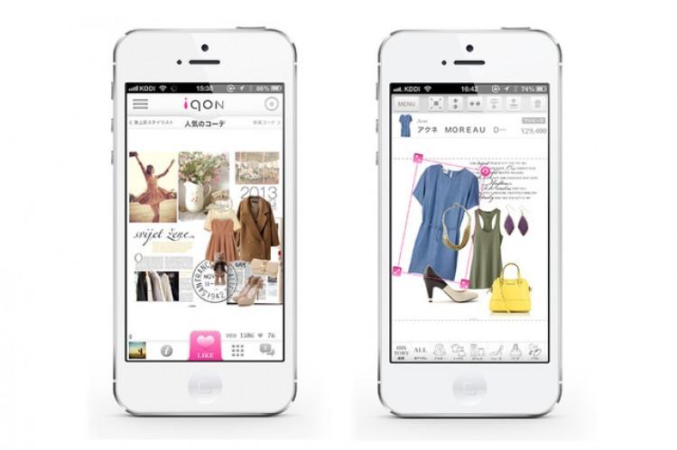 ファッションコーディネートアプリ『iQON』運営のVASILYが3億円を調達、オフライン店舗への送客も狙う