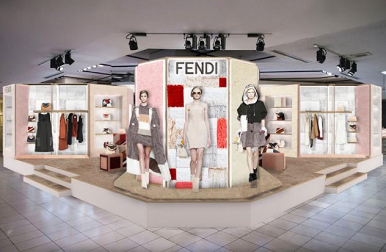 "outlet store f4c8b ef8e3 フェンディ、""日本上陸50周年""記念イベントを全国主要都市で開催 ..."