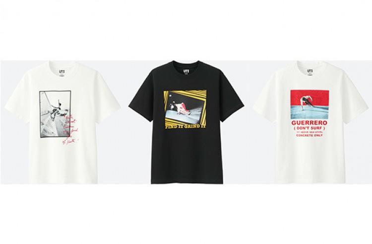 utがスケボー界のレジェンド トミー ゲレロとのコラボtシャツ