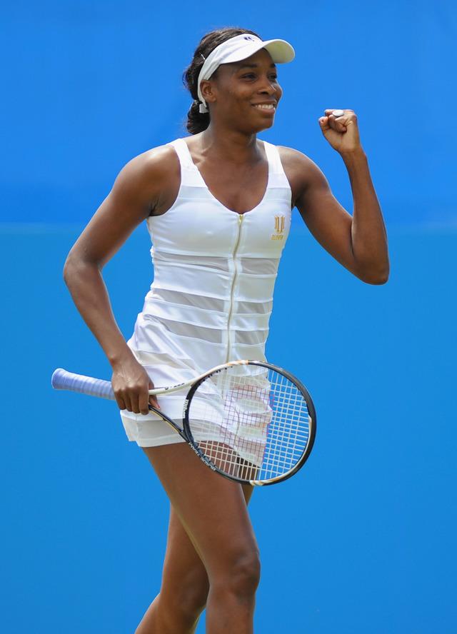 6月17日はプロテニス選手のビーナス・ウィリアムズの誕生日です ...