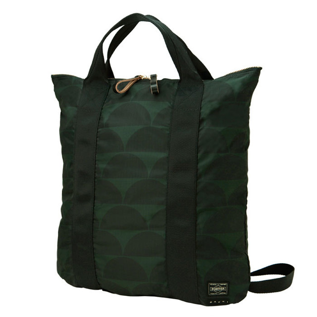 2WAY ZIP TOTE BAG