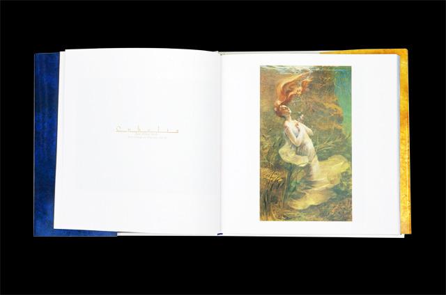 """ラファエル前派に巨匠が描いた""""水""""にまつわる美女100人を集めた画集 ..."""