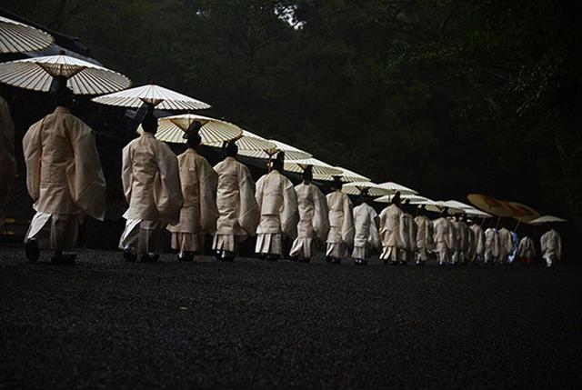 伊勢神宮式年遷宮の写真展で日本...