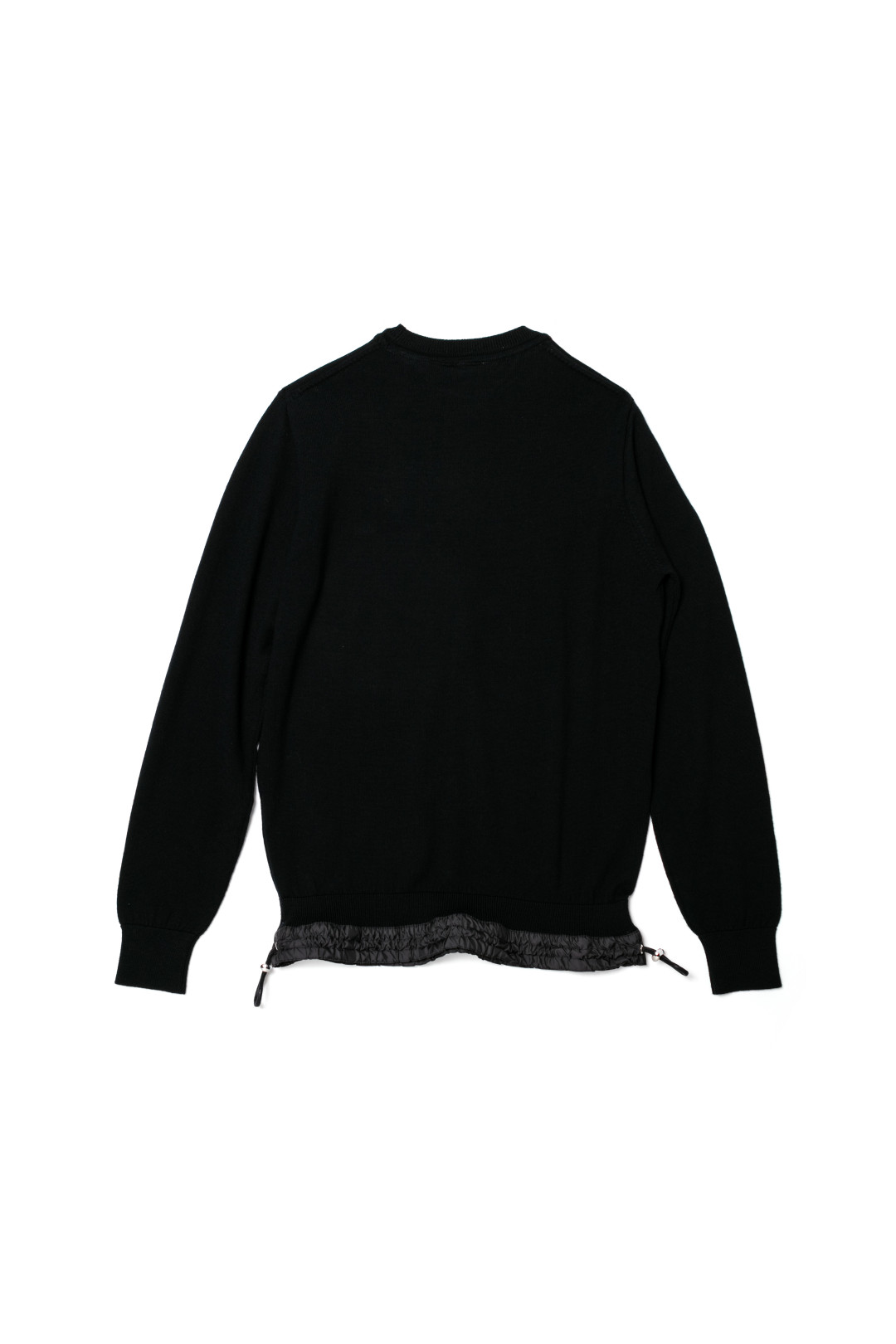 Long Sleeved pullover ブラック(3万8,000円)