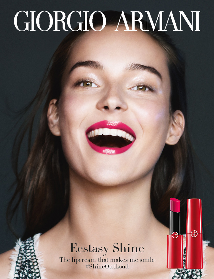 huge selection of bb42c 4763a ジョルジオ アルマーニ ビューティの新感覚リップで唇をドレス ...