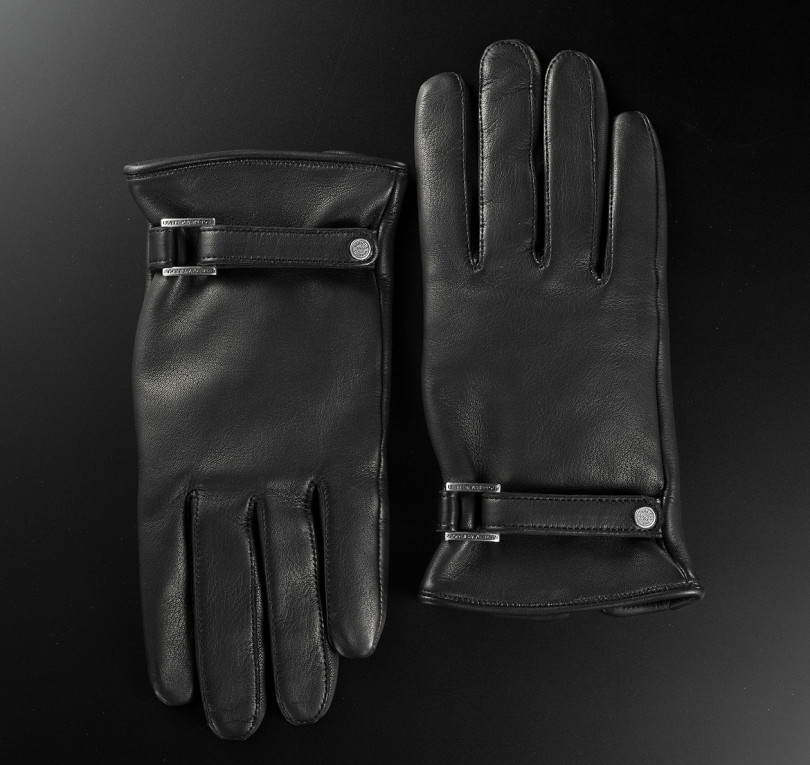 "LAMB LEATHER GLOVE""PLINIUS""(6万5,000円)"