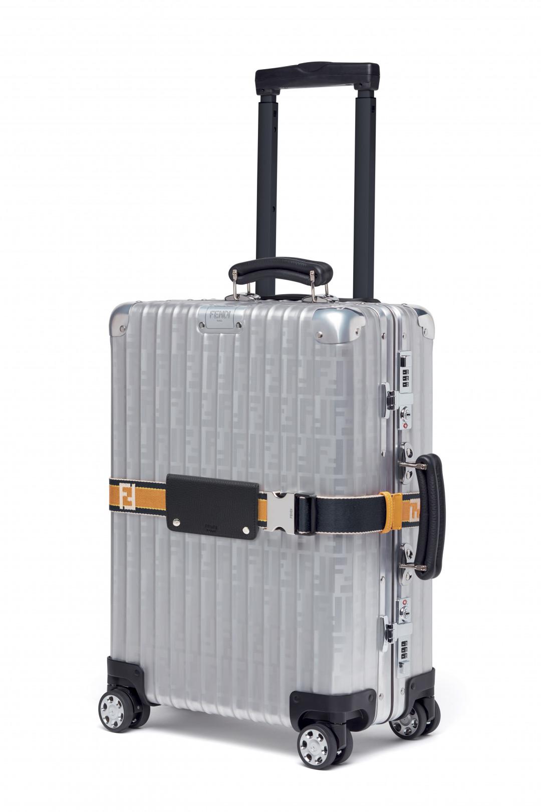 フェンディ×リモワが初コラボ、唯一無二の限定スーツケース登場