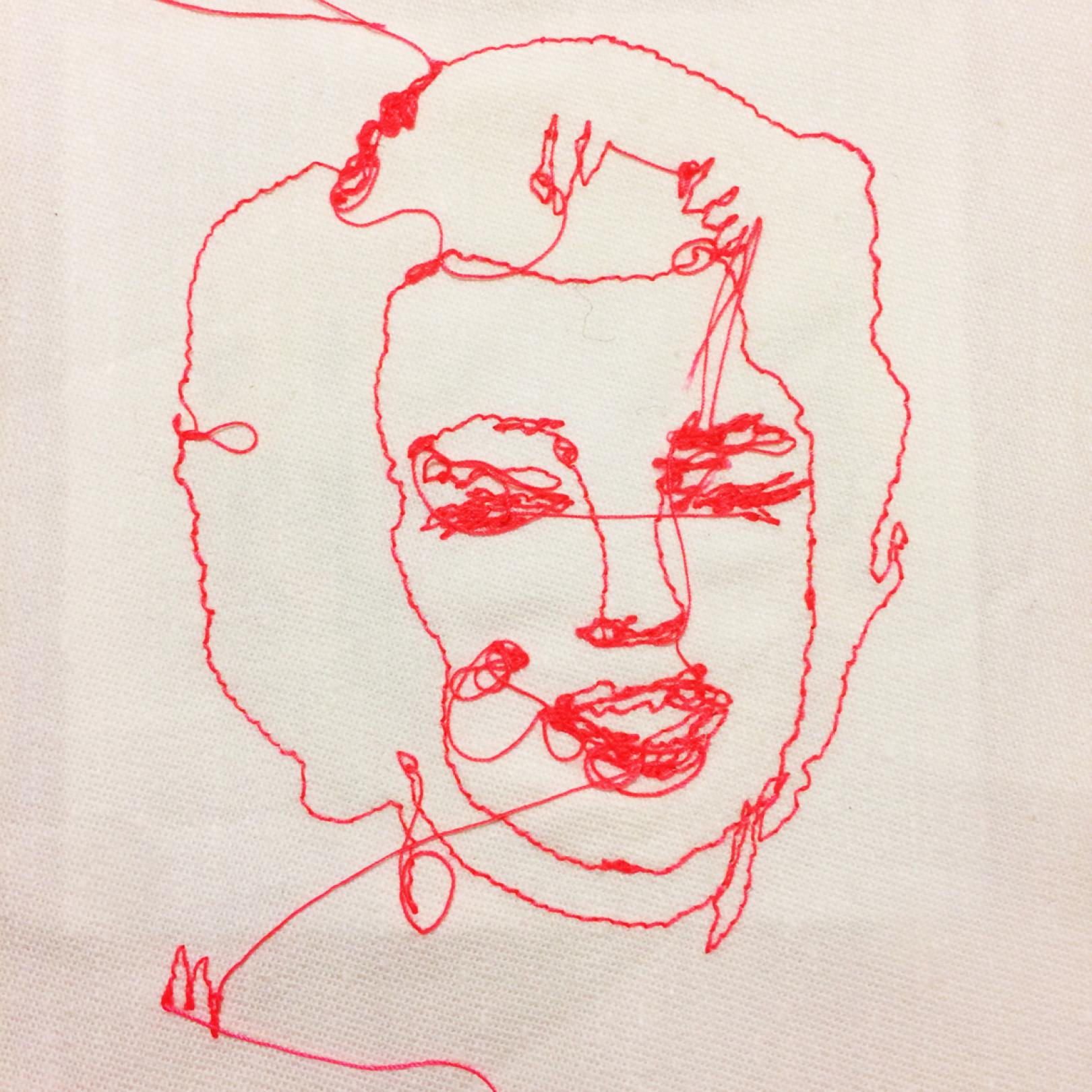 ウォーホル マリリン モンローなど時代のアイコンを刺繍する アーティストmuの個展 Art Culture Fashion Headline