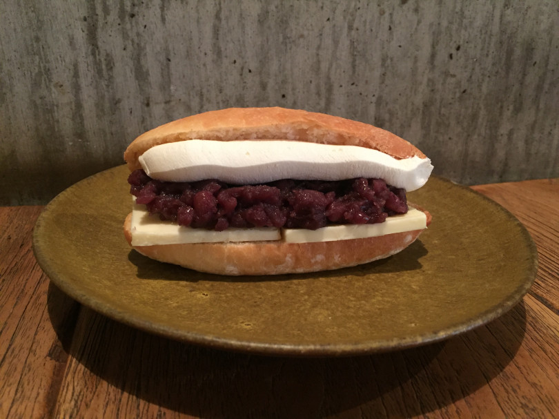 「あんバターリコッタチーズサンド」(540円)